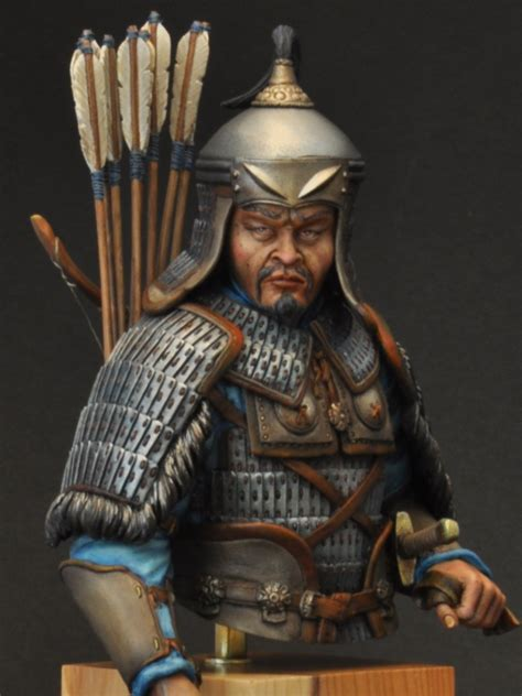 Mongol Commander 13th Century by Kilsh · Putty&Paint