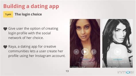 13 Building a dating app