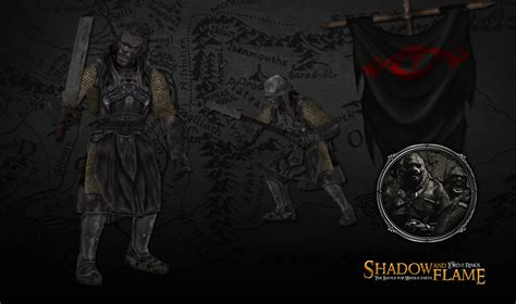 UPDATED - Mordor Uruk-Hai image - Shadow and Flame mod for