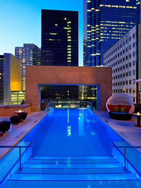 The Joule Hotel, Dallas | Infinity Swimming Pools