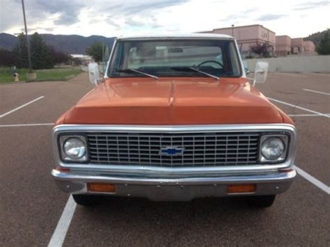 Sell used 72 Chevy C20 Auto in Bradenton, Florida, United