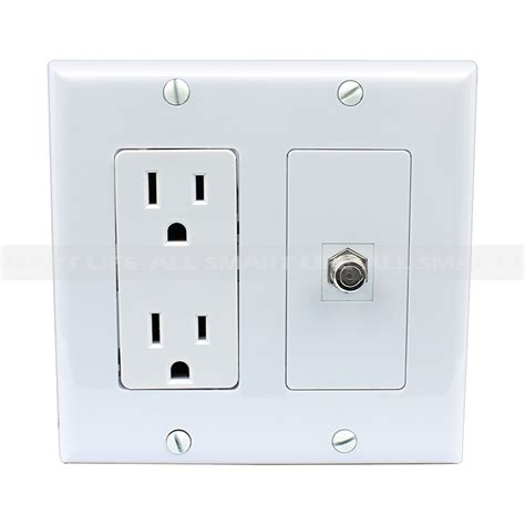 Brand new 15 Amp Power Outlet and 1 Port HDMI Decora Type