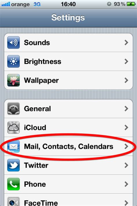 Setting up an email account on an iPhone - Web24