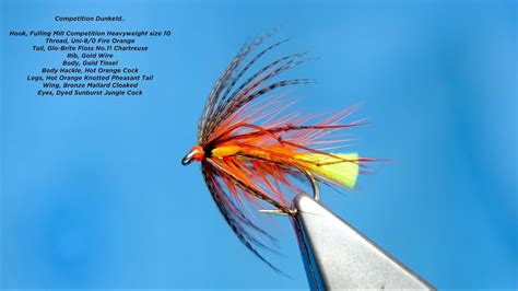 Tying a Competition Dunkeld (Wet Fly) by Davie McPhail