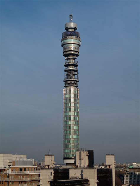 BT Telecom Tower | The BT Tower is a communications tower