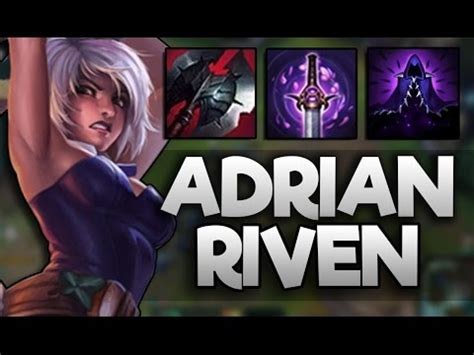 Adrian Riven vs Camille matchup - YouTube