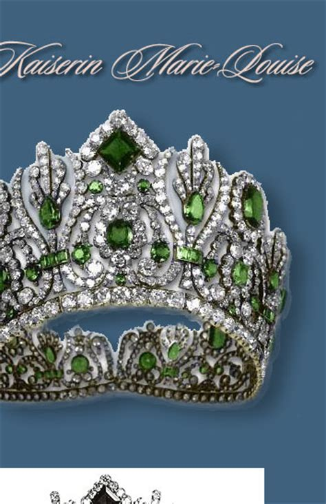 FRENCH CROWN JEWELS   The parure of Marie-Louise Empress