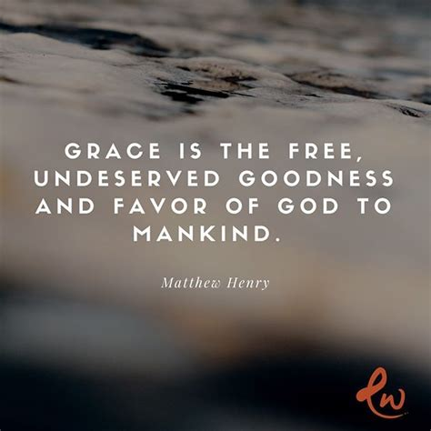 We all need grace but none of us deserve it