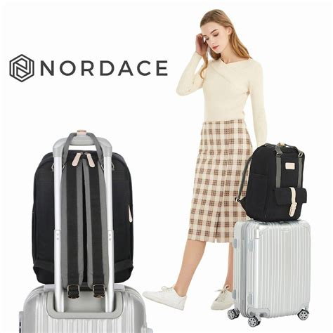 Nordace - Black #Eclat The Best Lifestyle Backpack EVER