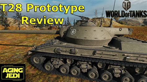 World of Tanks - T28 Prototype Review & Guide - YouTube