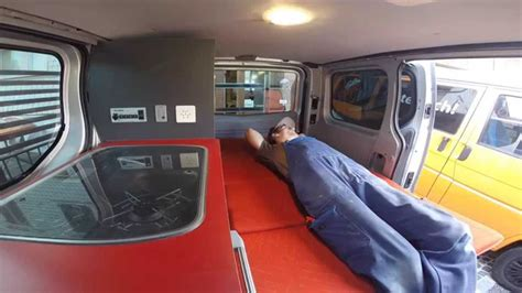 Camper conversion Renault Trafic by Custom Campers - YouTube