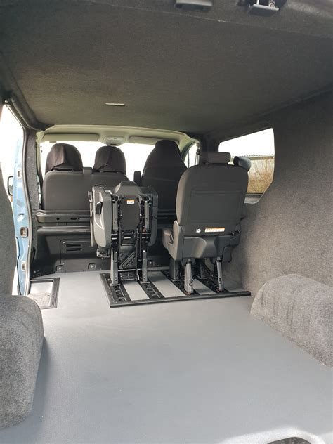 Renault Trafic Van Conversion Cornwall - Firehouse Campers