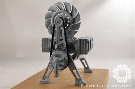 3D Printed Kinetic Sculpture Pays Homage to the Porsche