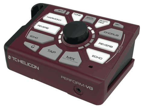 TC Helicon PERFORM-VG Mic-Stand-Mount Effects Processor
