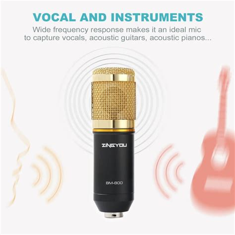 ZINGYOU BM-800 Review   Is This Condenser Microphone Any