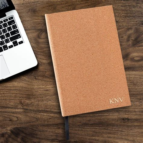 Personalized Journal - Cork – AGiftPersonalized