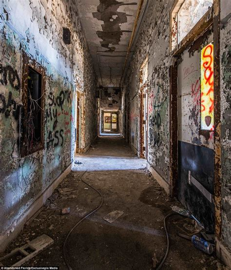 Haunting photos show the institution where the mentally