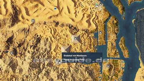 Assassins Creed Origins - Grabmale in Gizeh (PS4)