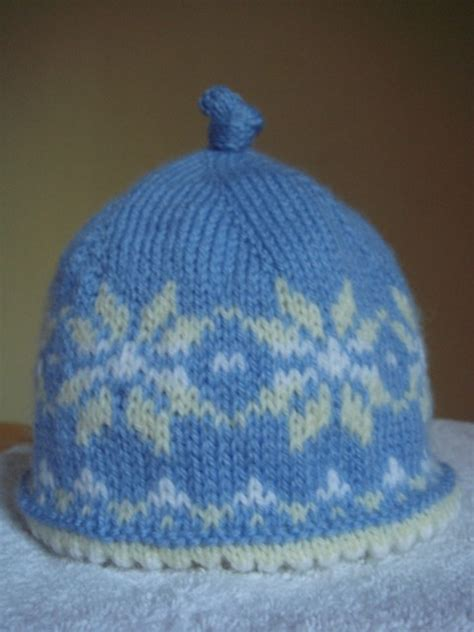 Newborn Sized Fair Isle Hat: baby_projects — LiveJournal