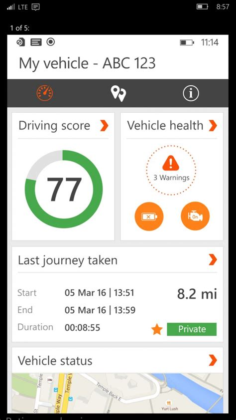 RAC Telematics driver app now available in Windows Store
