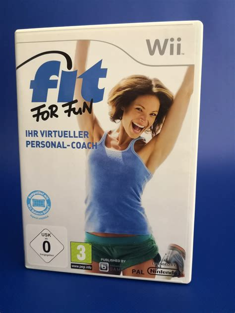Wii – Fit For Fun in OVP   Nintech-24 Onlineshop