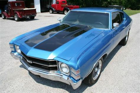 Sell used 71 CHEVELLE SS 350 AUTO in Anna, Illinois