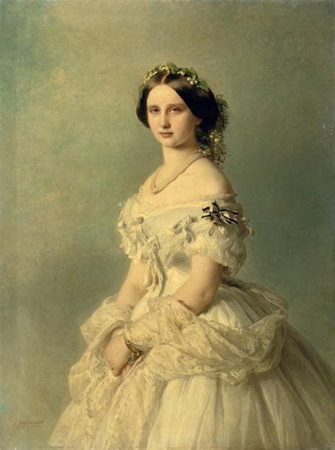 1857 Luise of Prussia, Princess of Baden by Franz Xaver