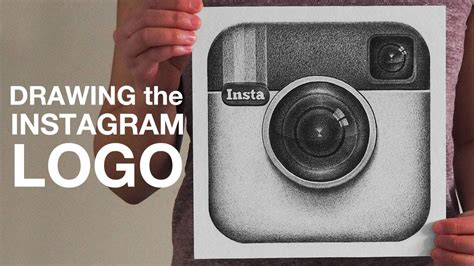 Drawing the Instagram Logo - YouTube