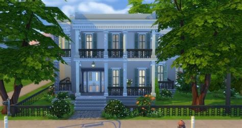 Mayfair house by Angerouge at Studio Sims Creation » Sims