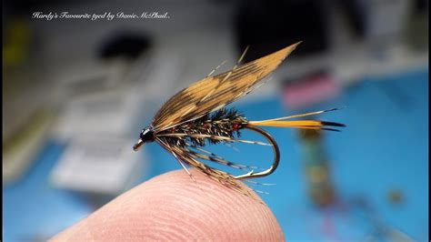 Tying the Hardy's Favourite (Wet Fly) with Davie McPhail